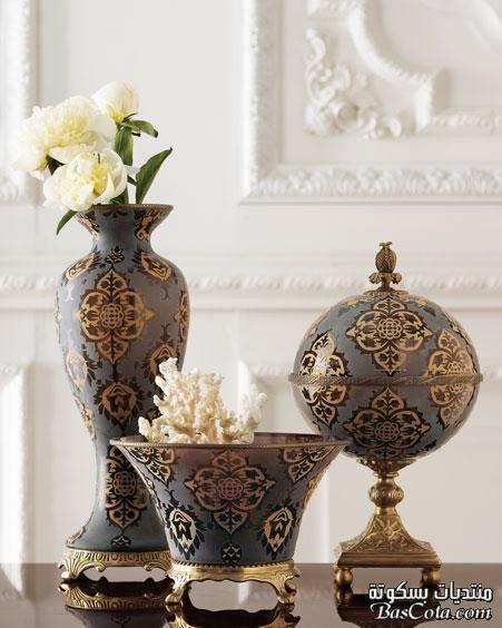 صور انتيكات كلاسيك انتيكات منزلية فخمة احدث انتيكات منازل 2013 و 2014 Classic Antiques Decorative Jars Home Decor Antiques
