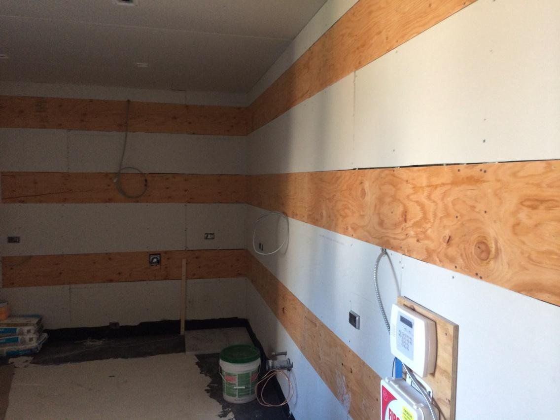 The Proper Way To Prepare A Wall For Kitchen Cabinets Blocking Stephan Fanuka Million Dollar Contractor Home Repair Woodworking Repair