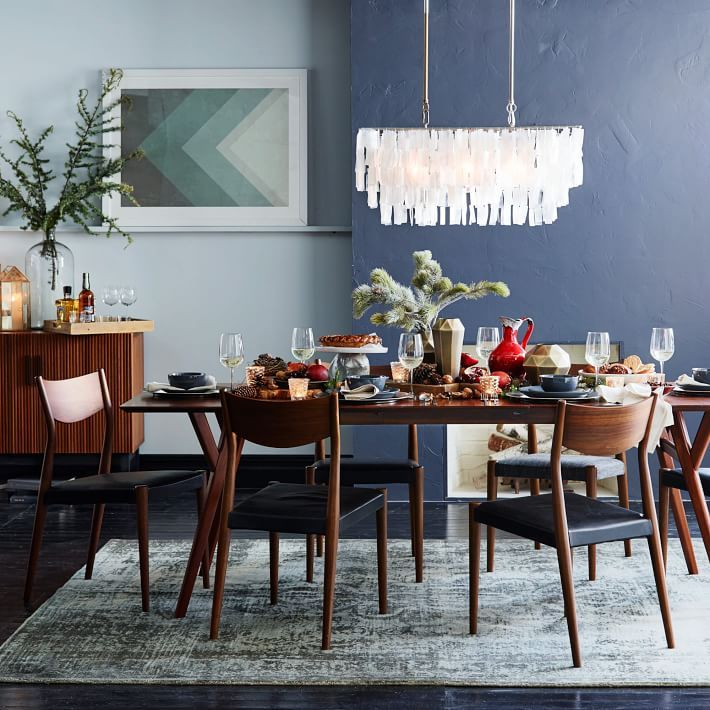 mid-century expandable dining table | home | pinterest | chairs
