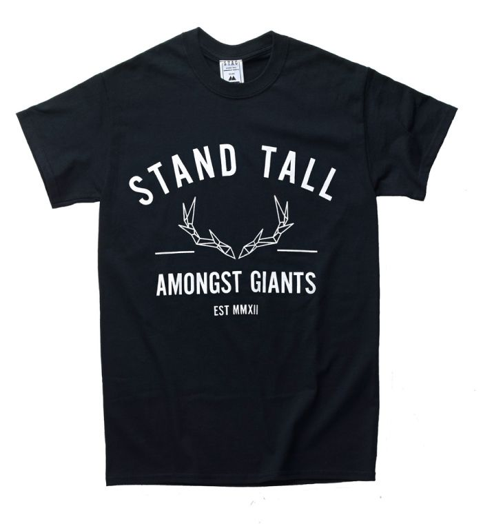STAND TALL AMONGST GIANTS