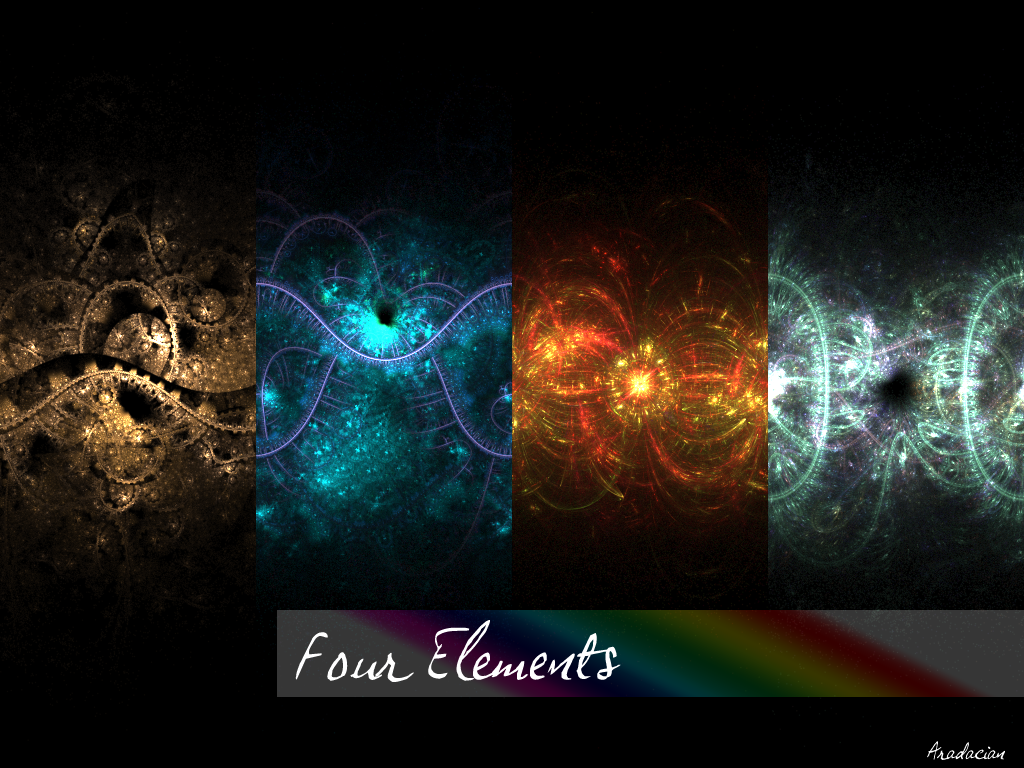 Four Elements By Aradacianiantart On Deviantart Elements
