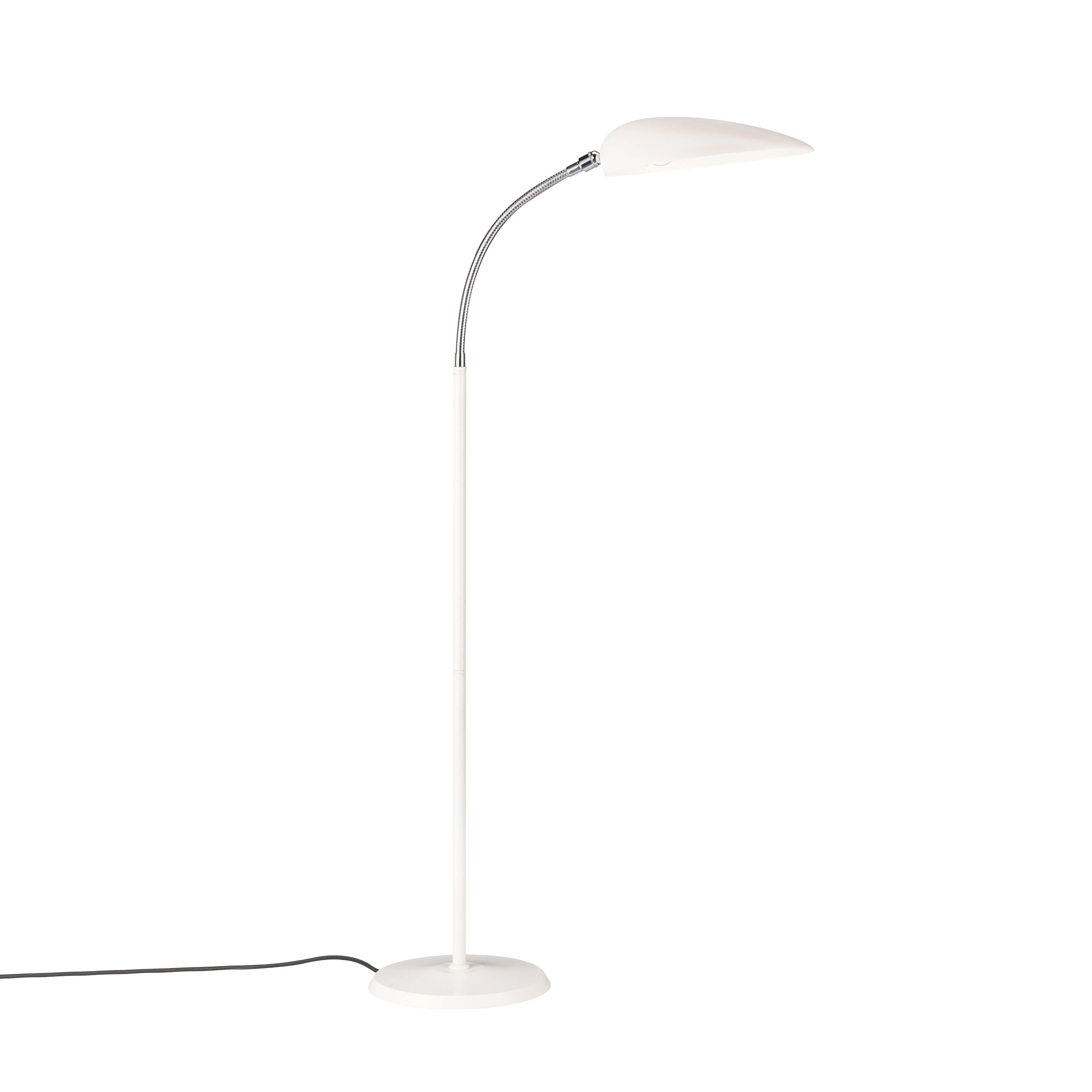 Mid Century G1 Cobra Floor Lamp White Floor Lamp White Floor