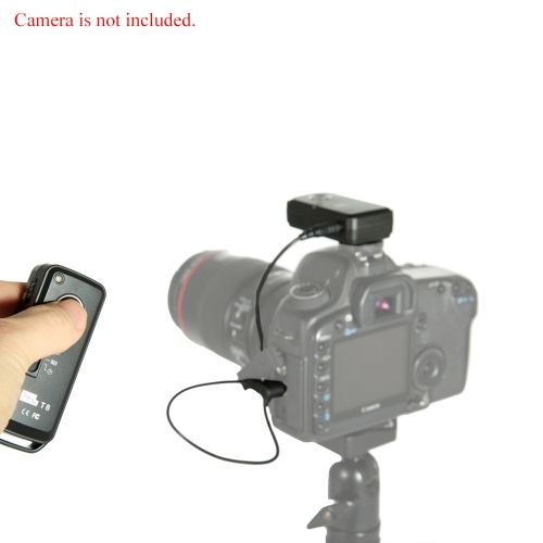Pixel Wireless Shutter Remote Control T8 N3 For Canon Eos 7d 6d 5d Series 1d Series 50d 40d 30d 20d 10d Canon Eos Remote Control Eos