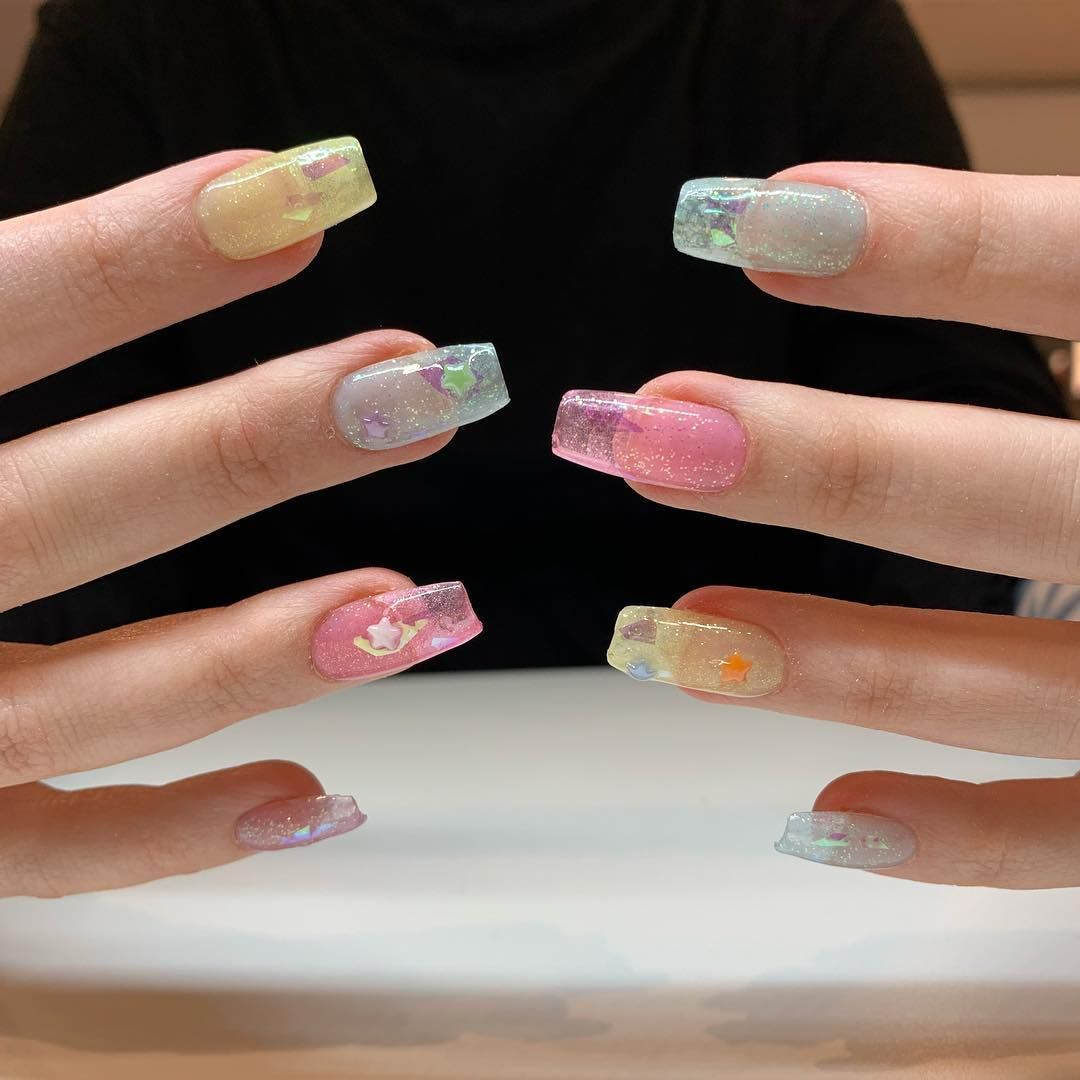 Art Nail Nyc On Instagram The Jelly Look Is In What Type Of Style Are You Rocking For The Season Nails Nail Art Jelly Nails