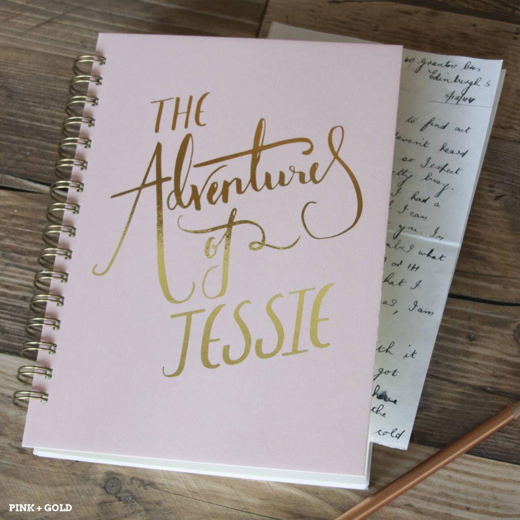 Wedding Memory Book Ideas: 'The Adventures Of' Personalised Memory Book