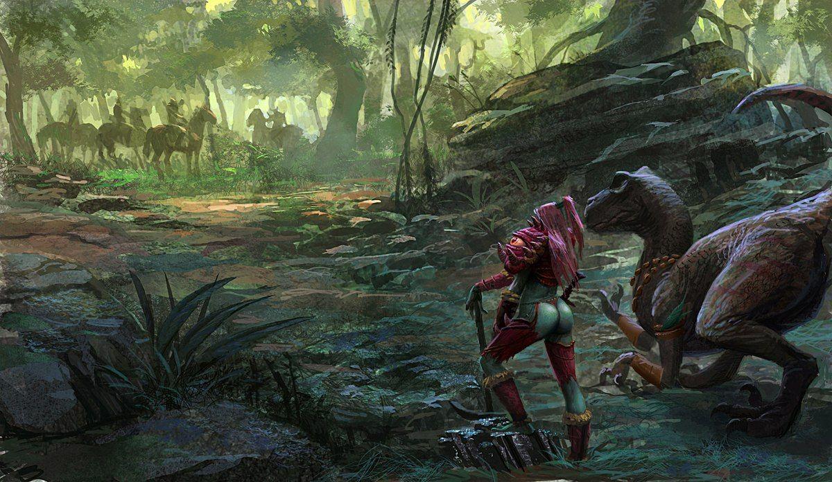 B2Qh88t52c.jpg (1200×696) Warcraft art, Forest art, Art