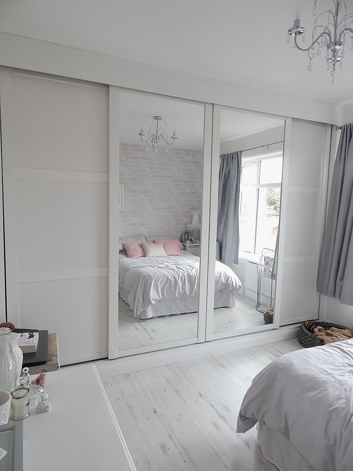 All White Bedroom Inspiration