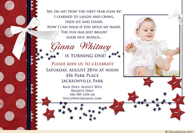 Summer stars 1st birthday invitation starry babys photo wording summer stars 1st birthday invitation starry babys photo wording stopboris Choice Image