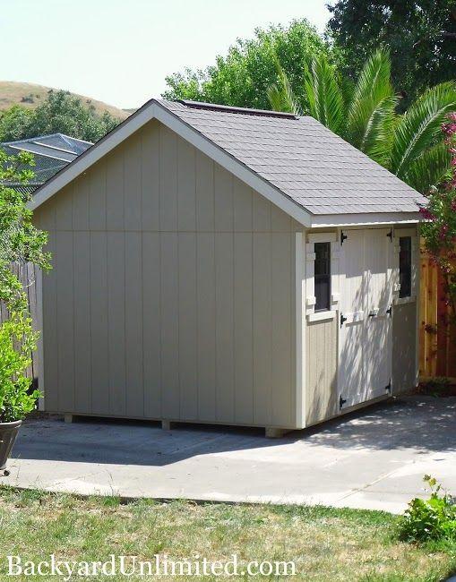 10x12 garden shed with ridge vent httpwwwbackyardunlimited