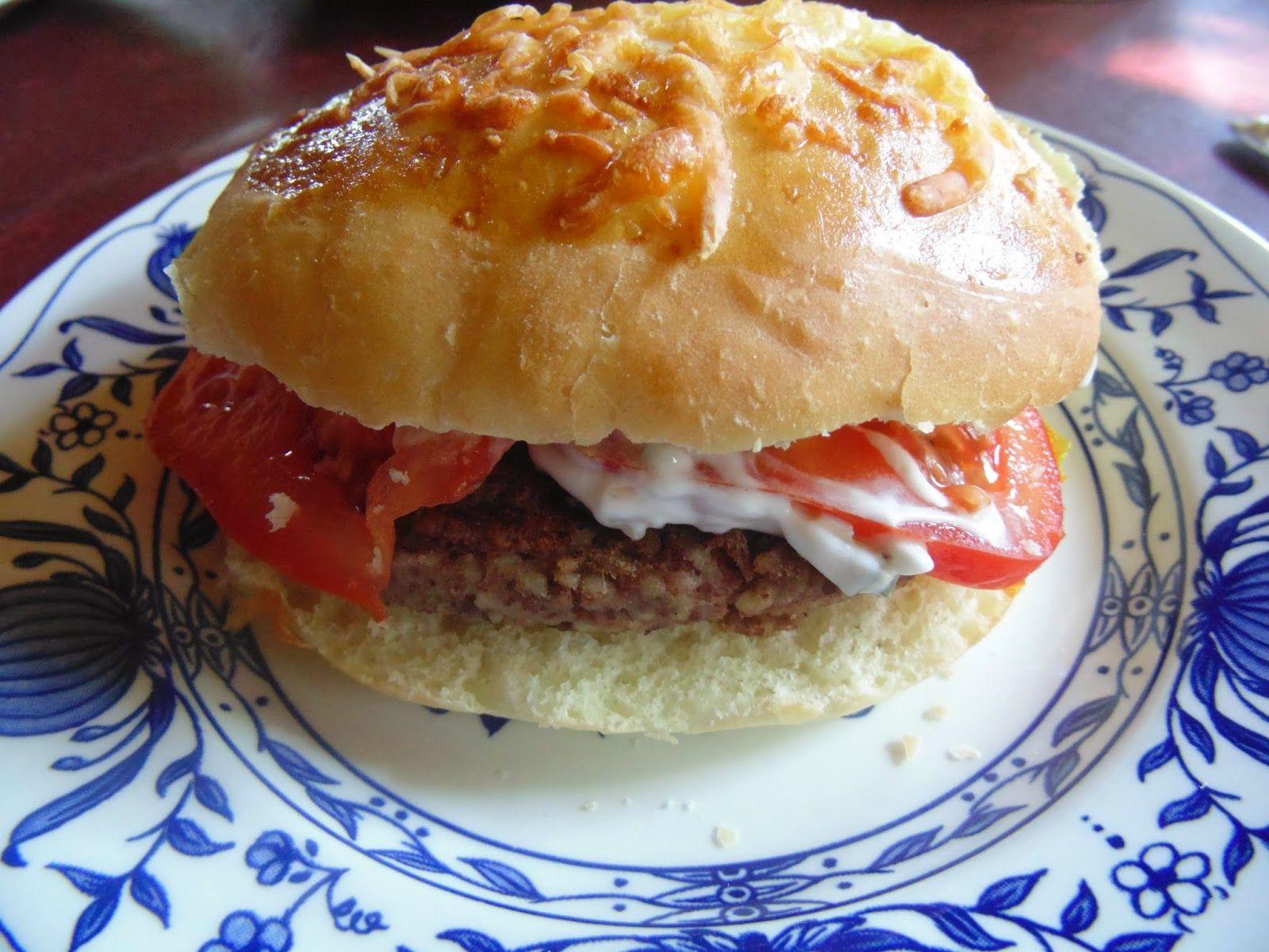 Mother´s Kitchen: Vegetarische Burger - einfach und schnell gemacht