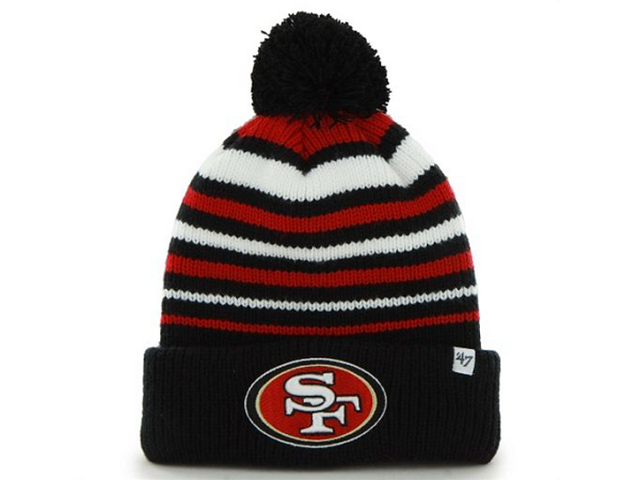 NFL San Francisco 49ers New Era Beanie Knit Hats|only US$8.99,please follow me to pick up couopons.