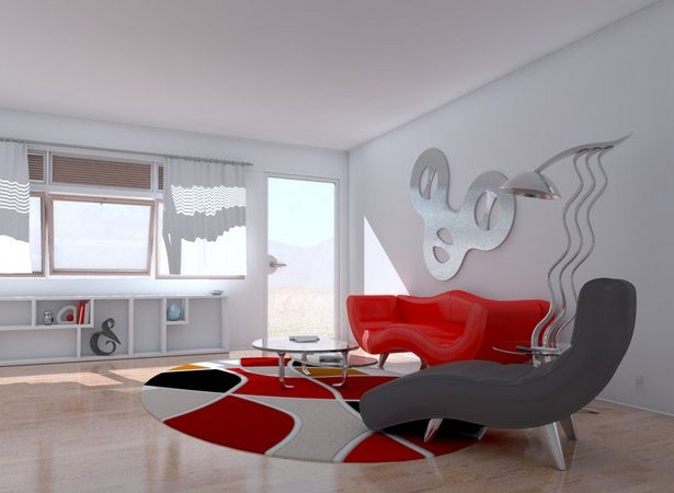 Contemporary wall decorations for living room with metal wall art ...