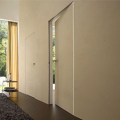 Puertas enrasadas innova parquets maresme doors - Puertas correderas ocultas ...