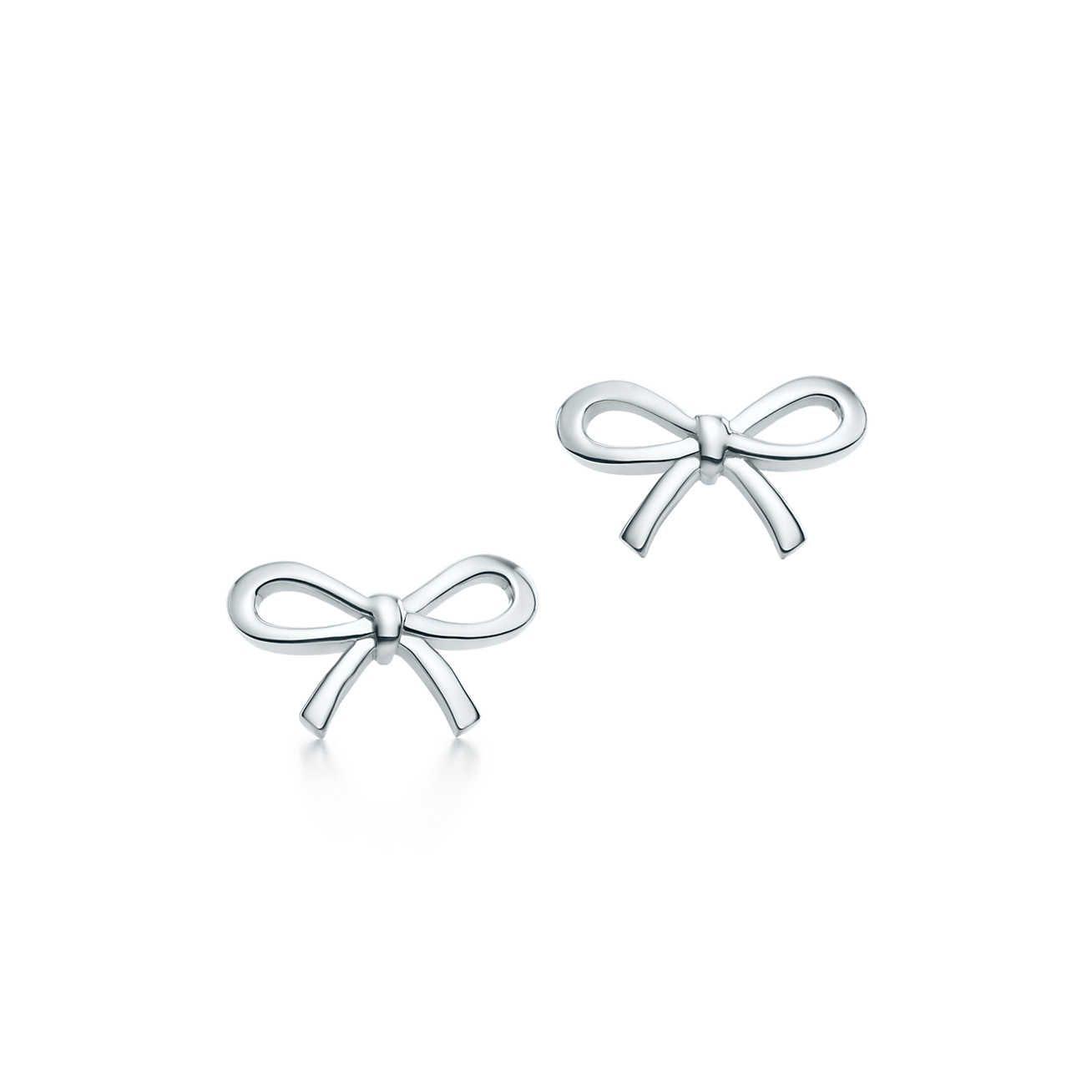 97e9df712609f Tiffany Bow:Earrings | I want one | Tiffany earrings, Bow earrings ...