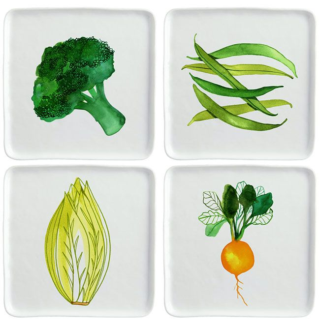 margaret berg art illustration dinnerware porcelaine. Black Bedroom Furniture Sets. Home Design Ideas