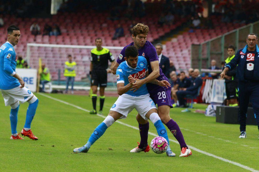Napoli-Fiorentina, il film della partita