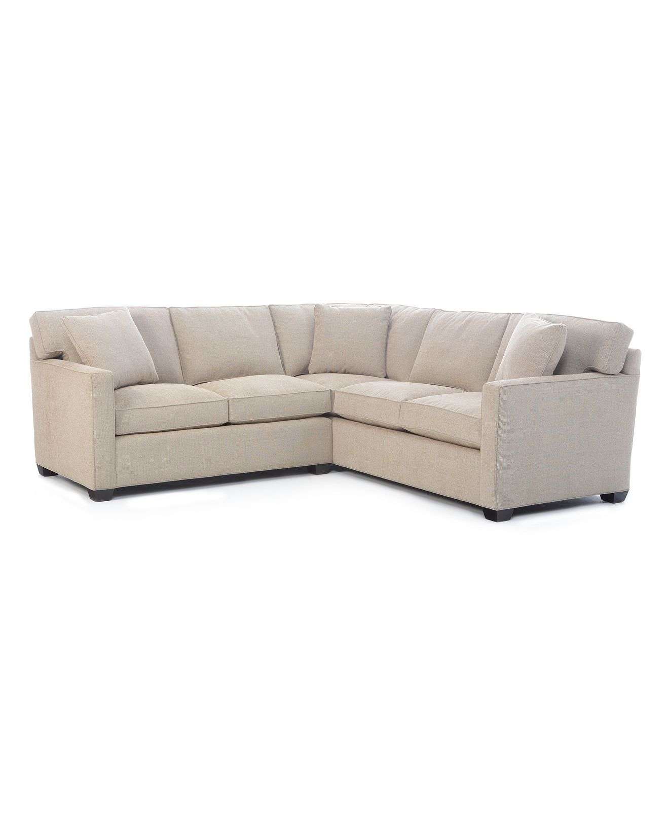sectional Klaussner Furniture Cruze sectional Ivory