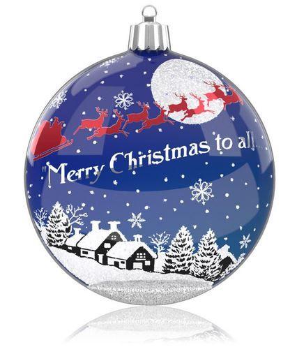 2014 Hallmark Ornament  Merry Christmas Eve  Hallmark Keepsake