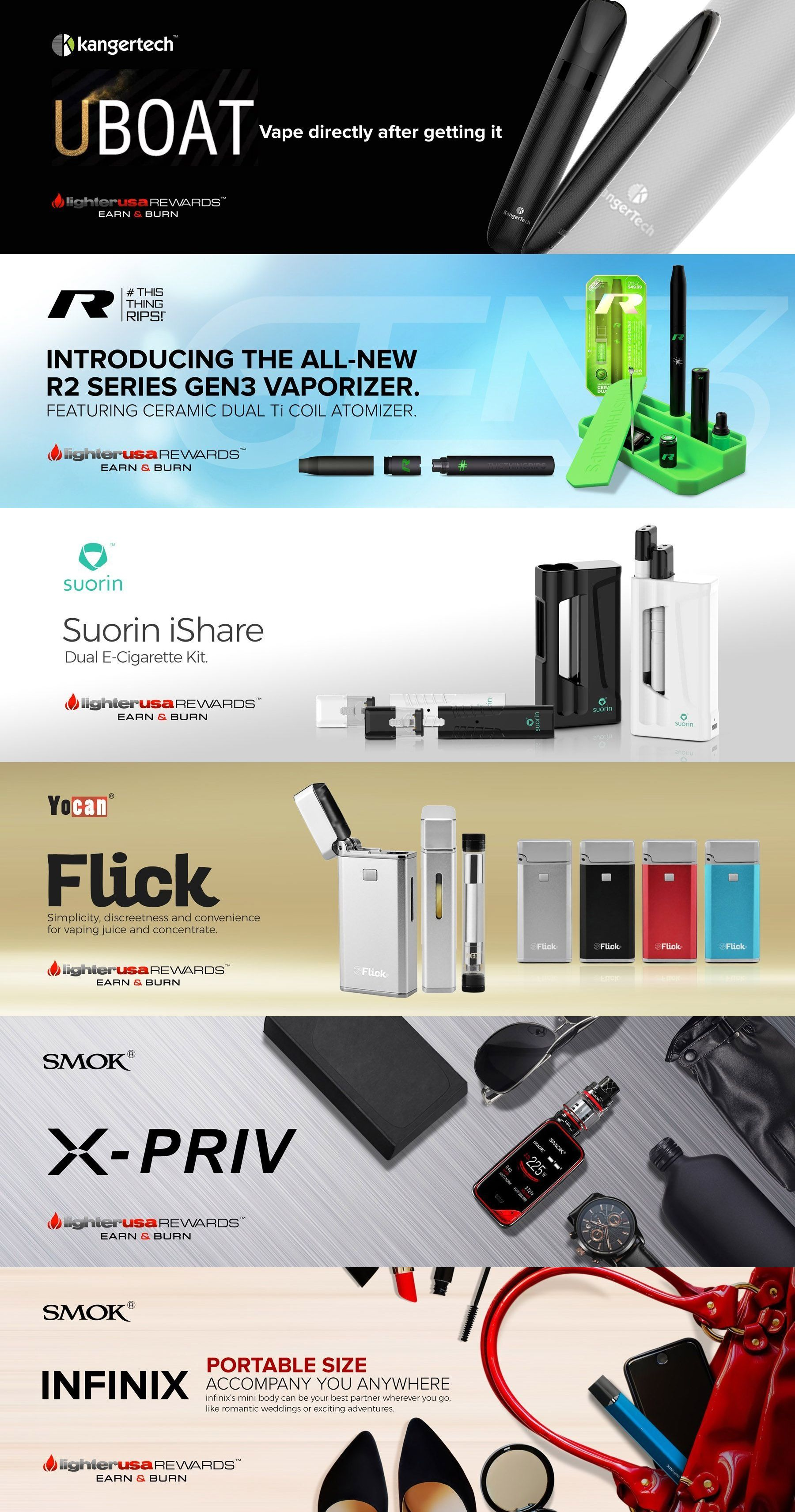 Lighter USA | Cigar Lighters and Cutters | Vaporizers | Free