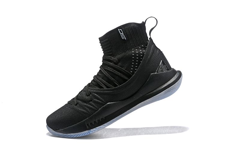 93f034ff3ec4 New Under Armour Curry 5 Black Ice High Top Mens Basketball Shoes ...