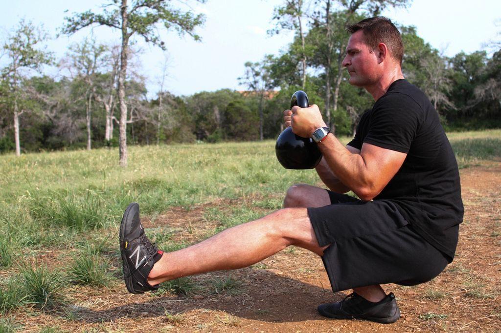 The pistol.  Beyond ordinary squats.