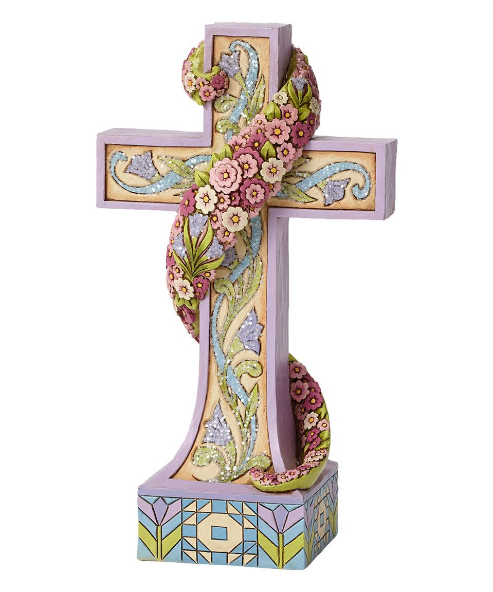 This Jim Shore Victorian Cross Décor by Jim Shore is perfect! #zulilyfinds