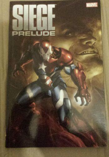 Marvel siege prelude graphic #novel #(xmen dc image vertigo