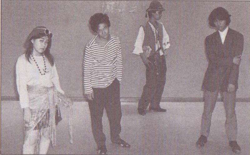 Twitter / DensukeKagezou:   1985年? ILL-BONE ※その高い音楽性&文学性に気がついたのはかなり時間が経ってからでありました。
