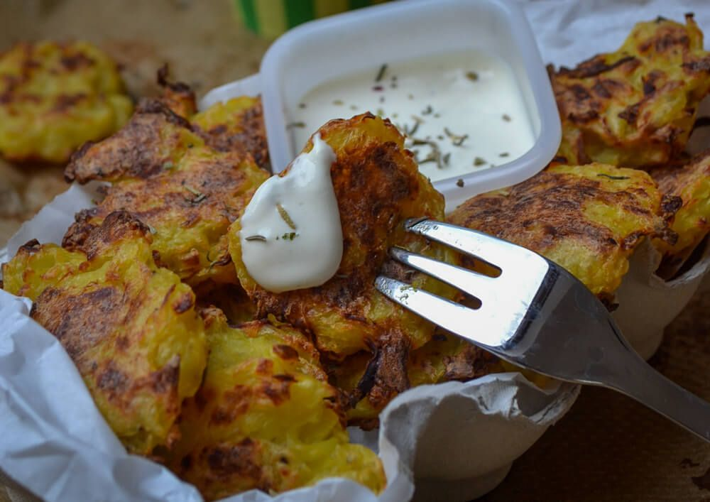 Tater Tots Mit Knoblauch Zitronen Dip Rezept Rezept Kochen