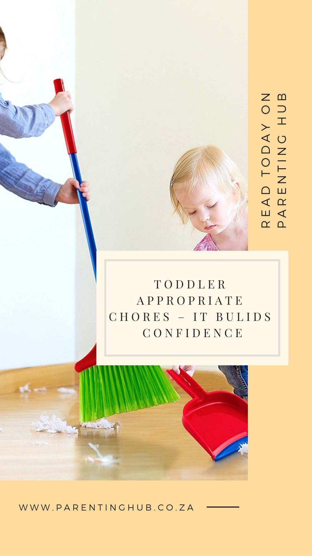 Toddler Appropriate Chores It Bulids Confidence