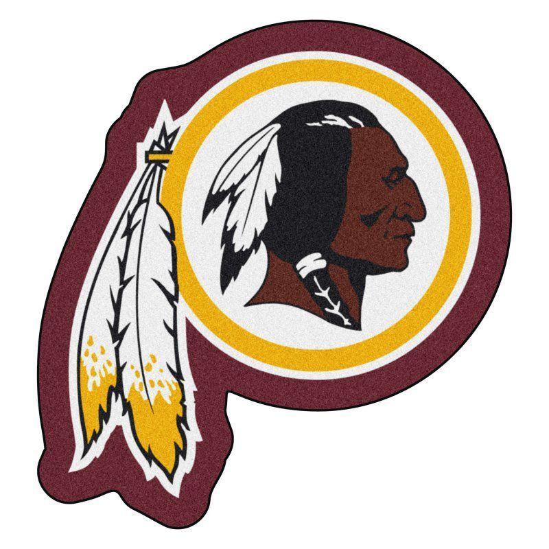 Fan Mats NFL Football Mascot Indoor Rug 20990 Redskins