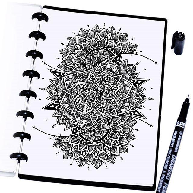 Mandala Zentangle Drawing Mandala Art Mandala Featured Artist