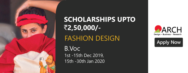 Pursue Fashion Design Courses With Scholarships Up To 2 5 Lacs Exam Dates 1st To 15th Dec 2019 15th Jan To 30th Jan 2020 Fashion Design Design Course Design