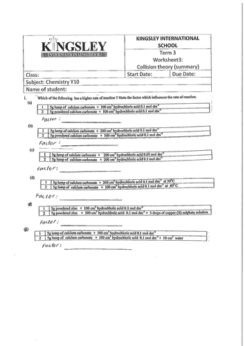 Physical Science If8767 Worksheet Answers   worksheet