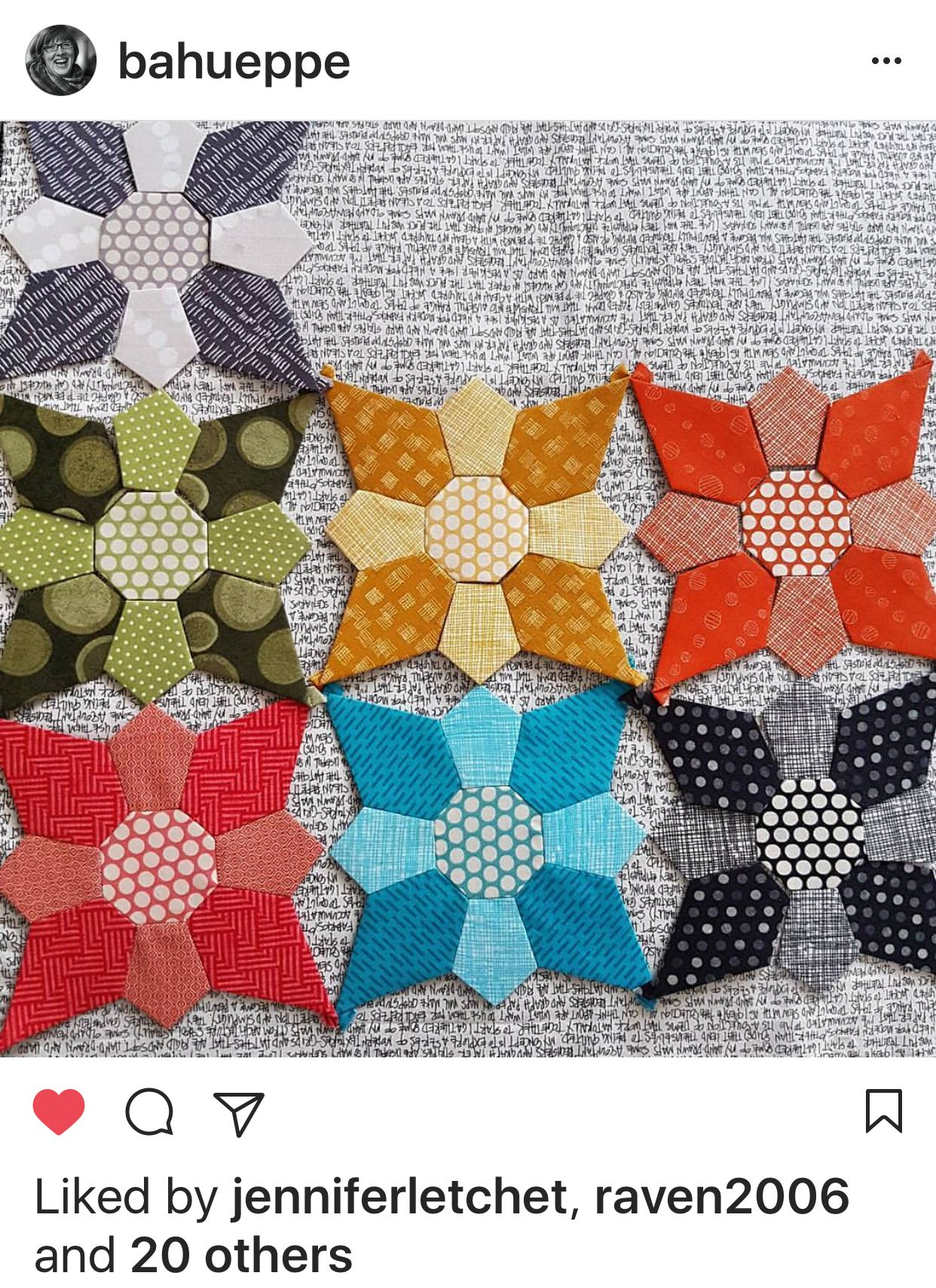 Exclusive Mischief English Paper Piecing Kt Hexagons