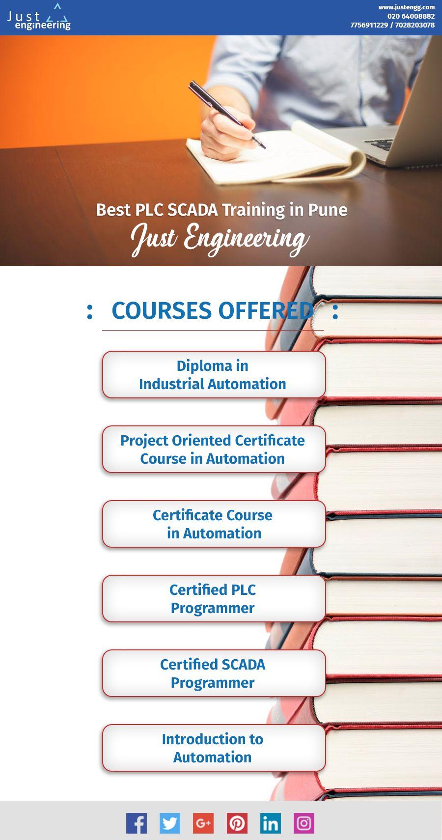 Best plc scada training in pune just engineering just
