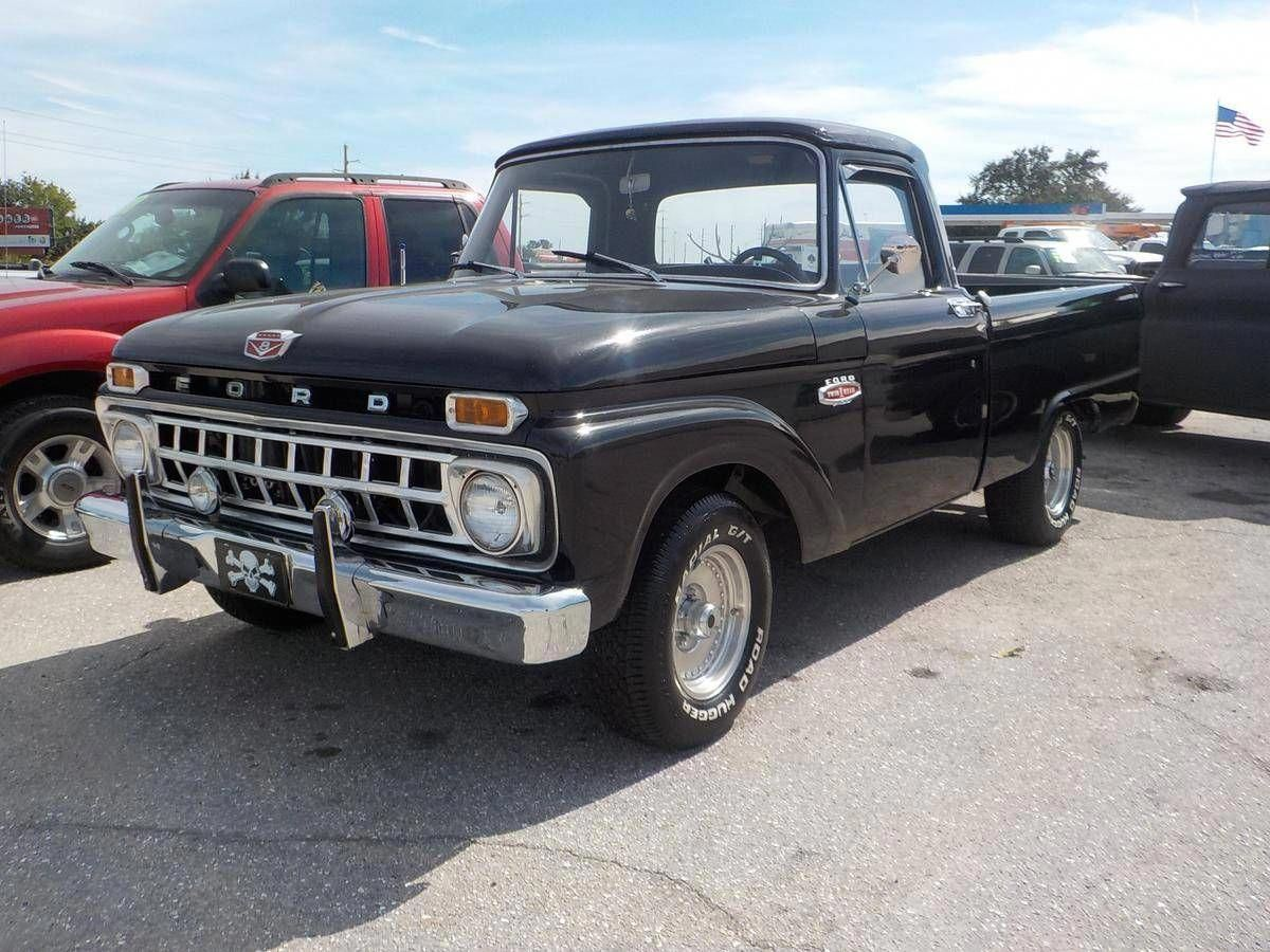1965 Ford F100 Short Bed Pickup Fordclassiccars Classic