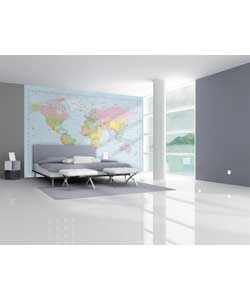 Buy 1wall map of the world wallpaper mural at argos your buy 1wall map of the world wallpaper mural at argos your online shop for wallpaper samples borders and wall stickers gumiabroncs Choice Image