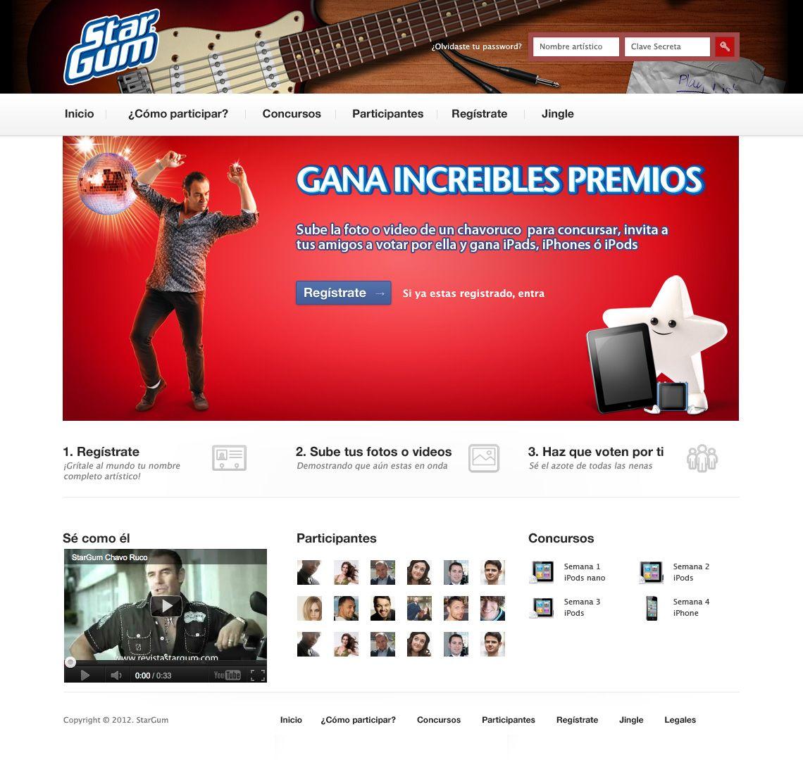 Desarrollo de plataforma de votos para concurso StarGum Chavoruco