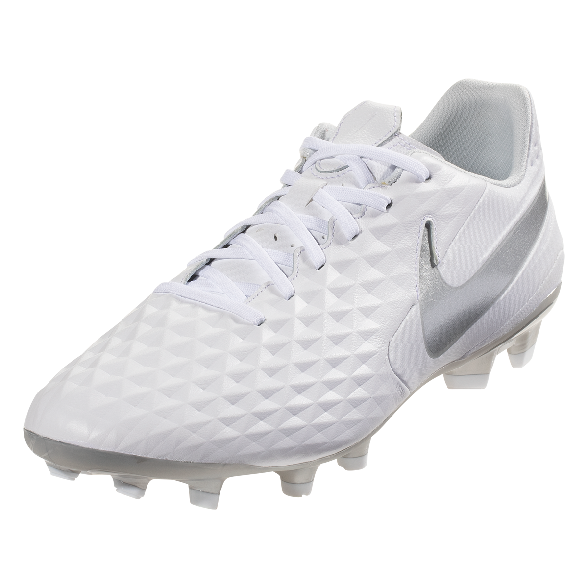 Nike Tiempo Legend 8 Academy FG Soccer Cleat WhiteChrome
