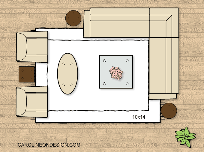 How To Choose The Best Rug Size And Placement Caroline On Design Area Room Rugs Cool Rugs Living Room Area Rugs #rug #size #for #small #living #room