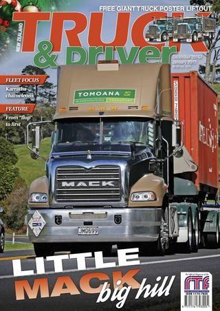 Nz truck & driver — december 2016 — january 2017november 29 2016