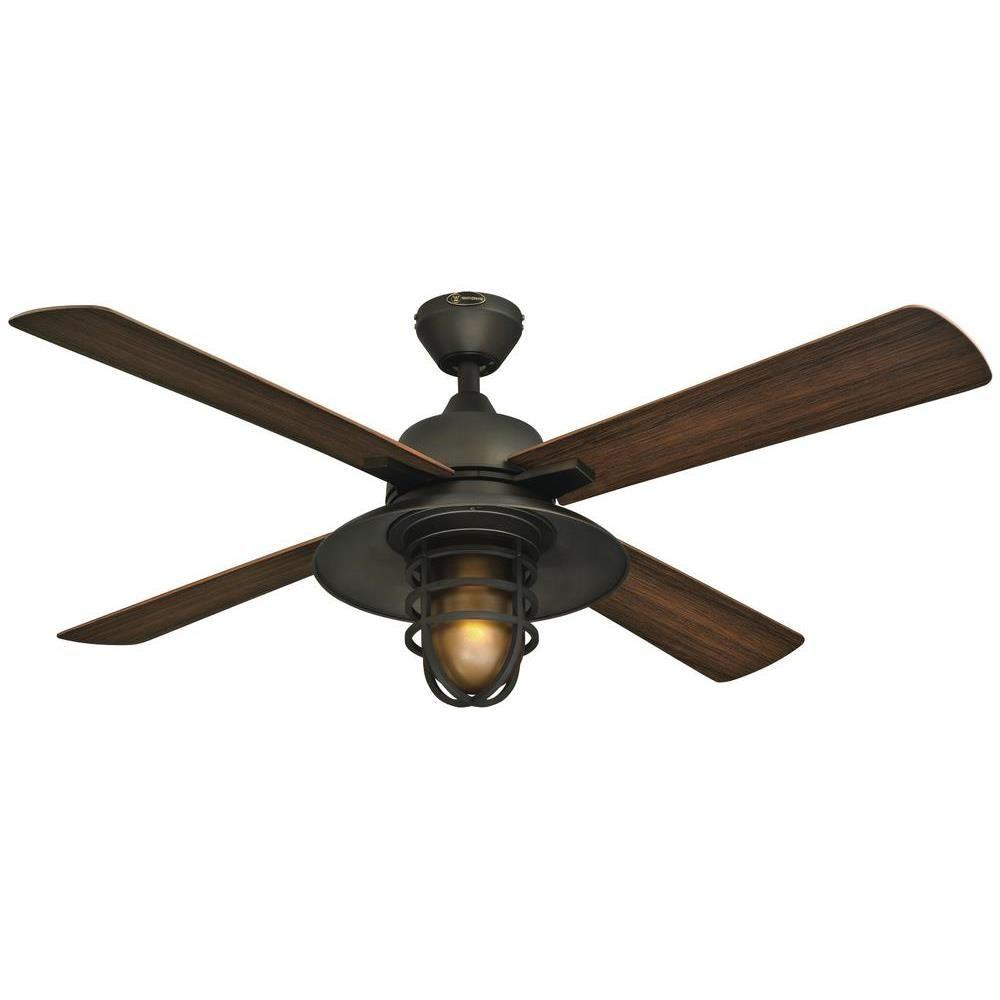 Westinghouse Great Falls 52 In Indoor Outdoor Oil Rubbed Bronze