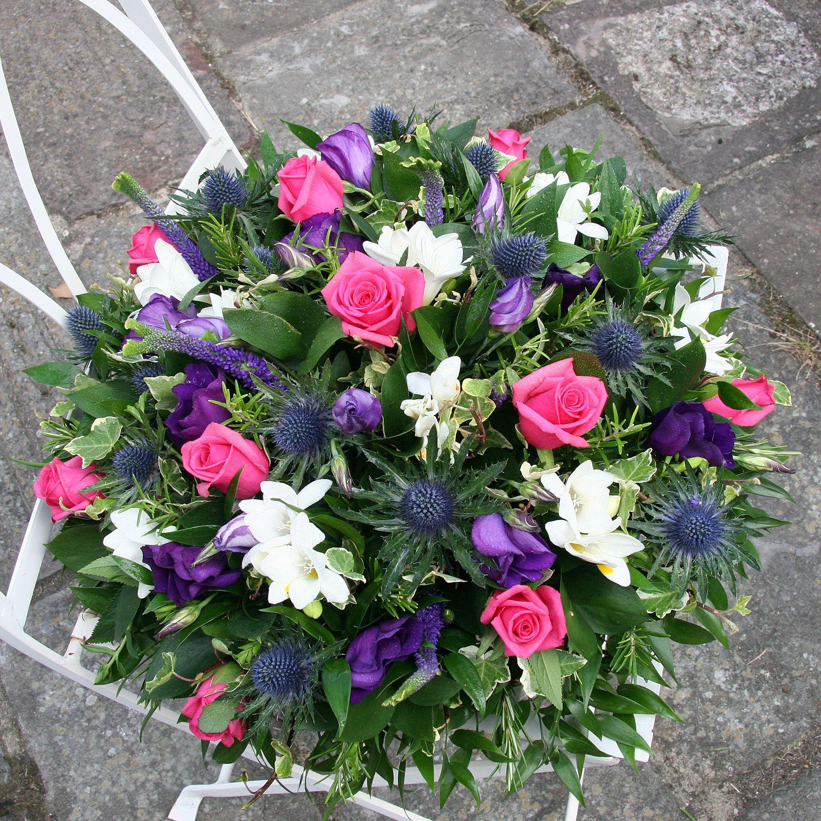 Funeral flowers - funeral wreath