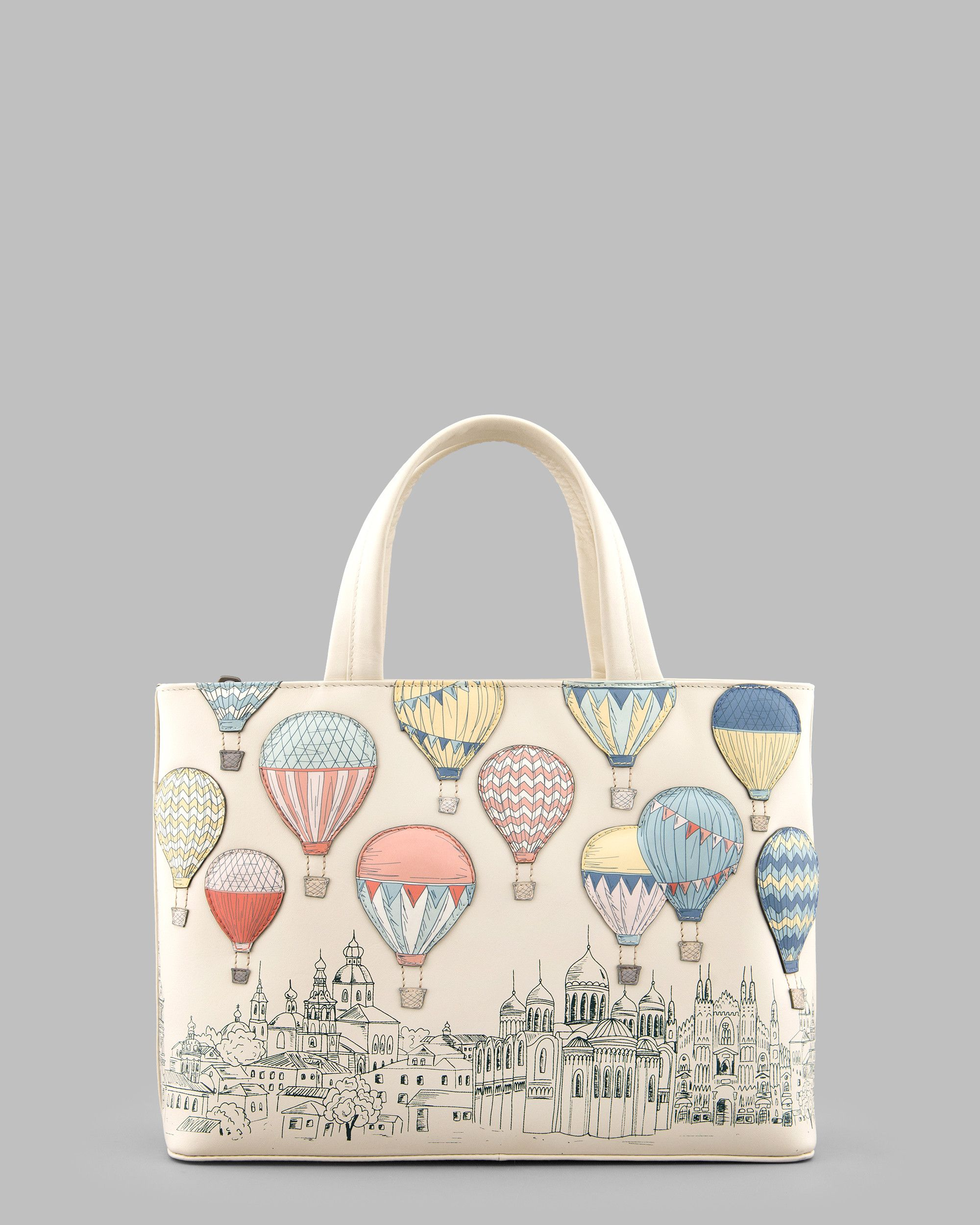 Amongst The Clouds Cream Leather Ladies Grab Bag By Yoshi. The ...