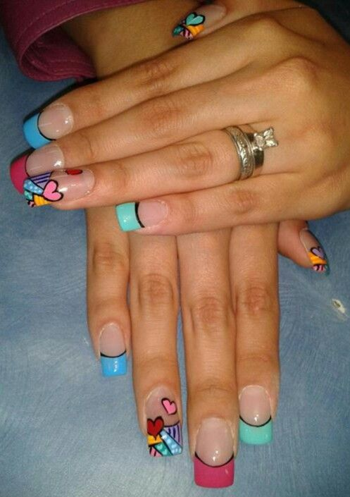 Britto Nails Styles