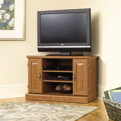 Amazon Sauder Orchard Hills Corner TV Stand Furniture & Decor