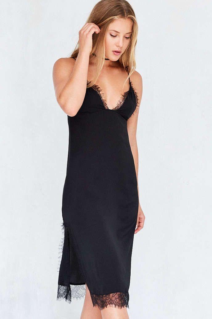 81df6b6d92a9 Capulet Parlour Lace Trim Midi Slip Dress   The Slip Dress   Lace ...