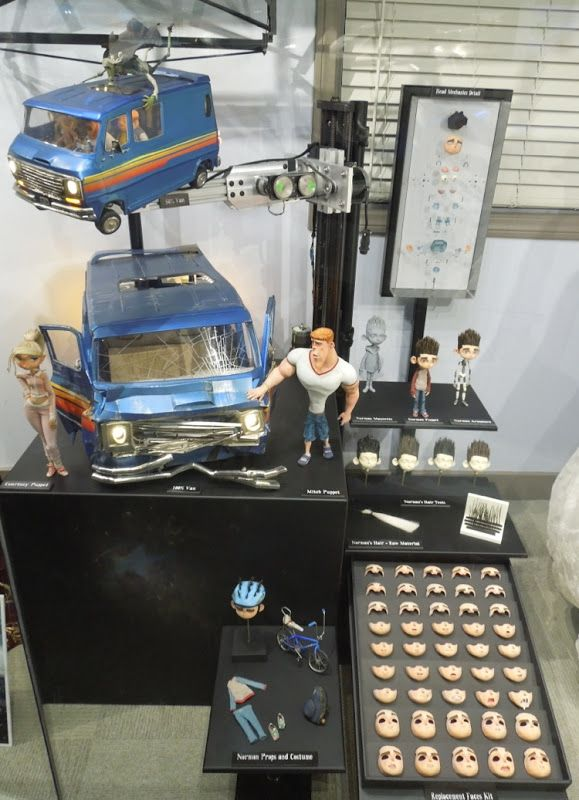 ParaNorman stop-motion animation exhibit | Stopmotion | Pinterest ...