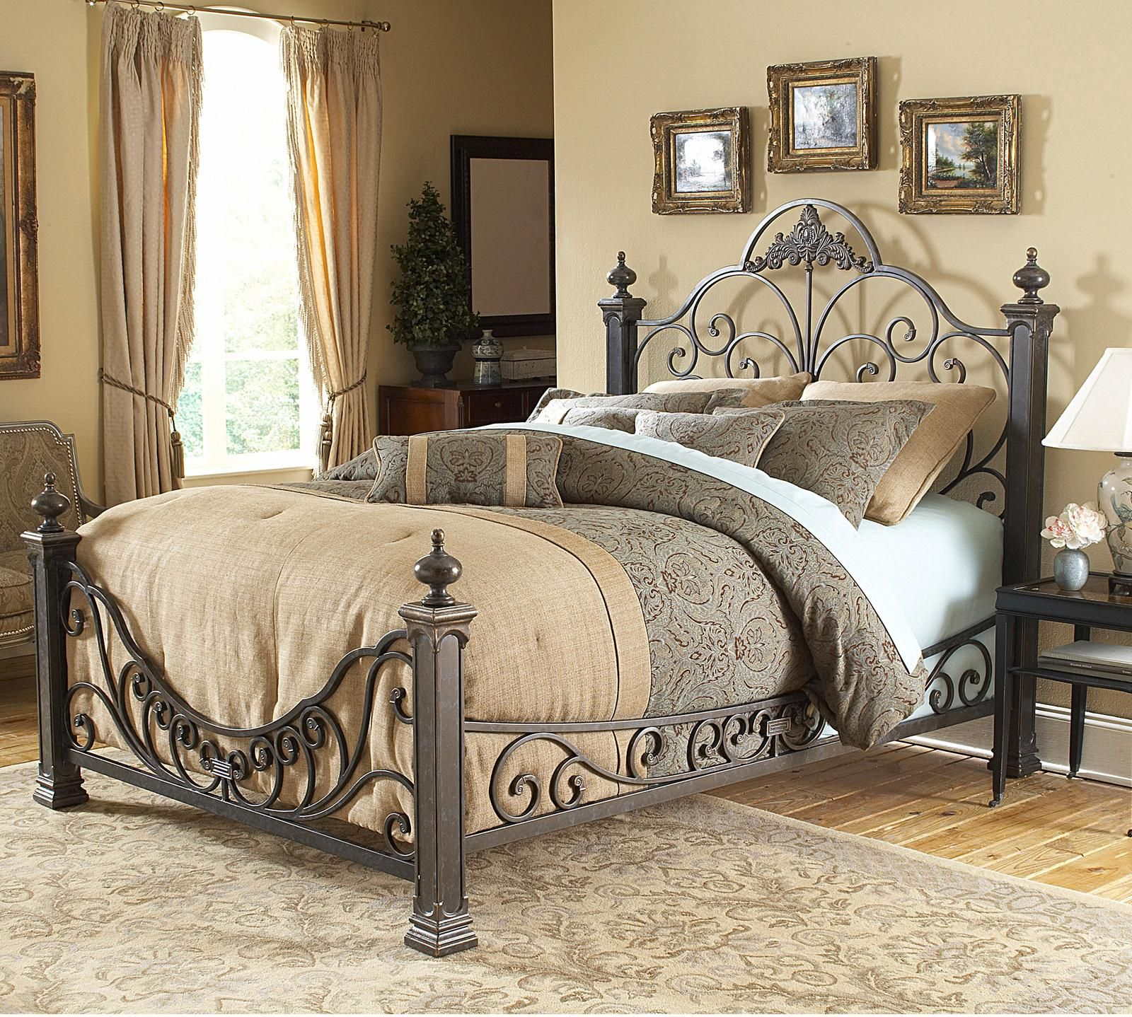 delight in beautiful simplicity with the baroque bed, the simple